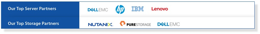 DELL EmC IBM Lenovo Nutanix Pure Storage Storage and Servers Brisbane Supplier
